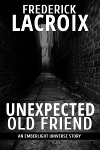 Short story Unexpected Old Friend cover by Frederick Lacroix
